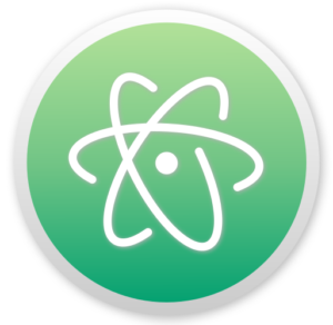 Atom editor logo